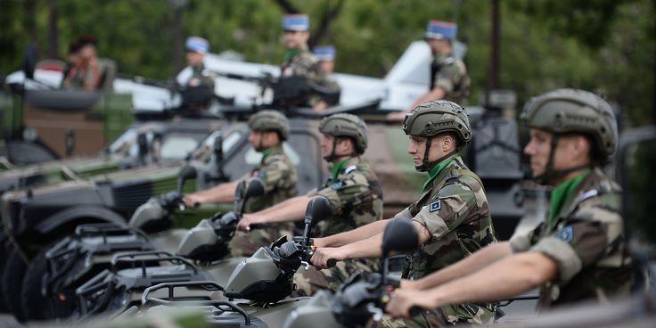 Une nouvelle monture pour les soldats