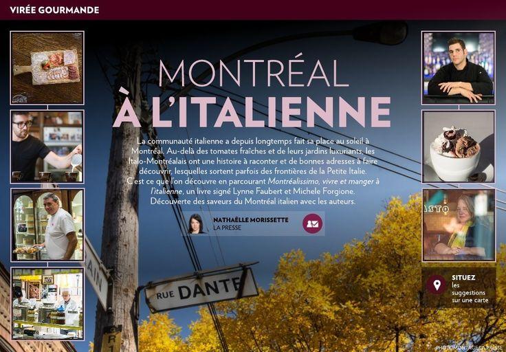 Montréal à l'italienne - La Presse+
