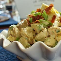 English Pub Potato Salad With Cucumber and Bacon Allrecipes.com
