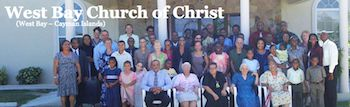 The West Bay Church of Christ is located in West Bay, Grand Cayman. Teachings are based upon the New Testament.