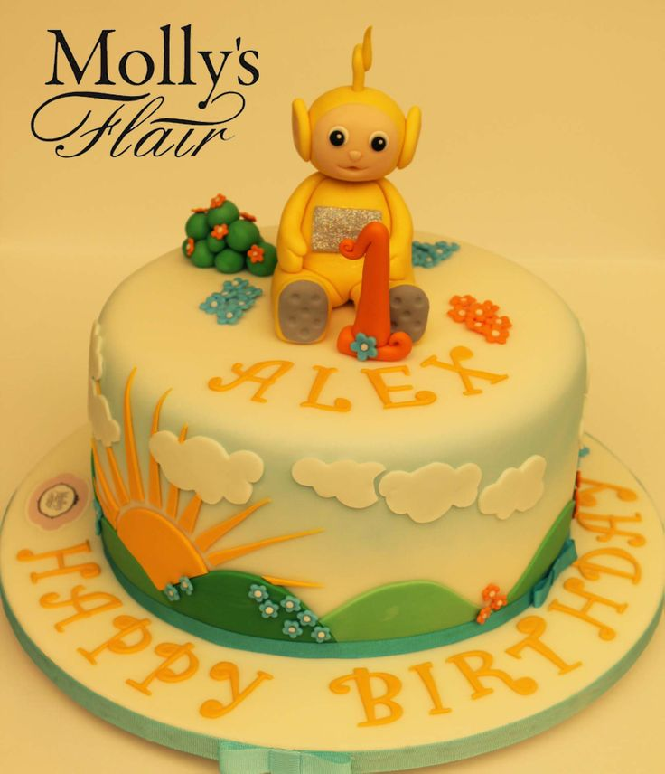 Kids Birthday - Teletubbies cake by Molly's Flair