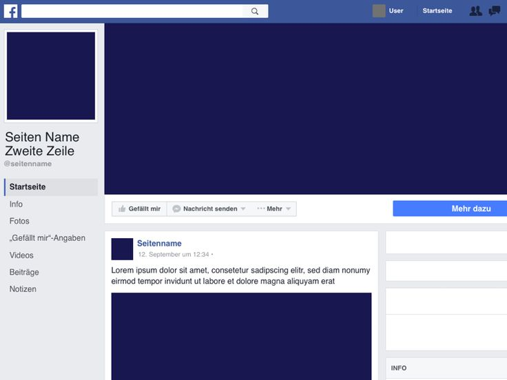 The  Best Facebook Page Template Ideas On   Wanted