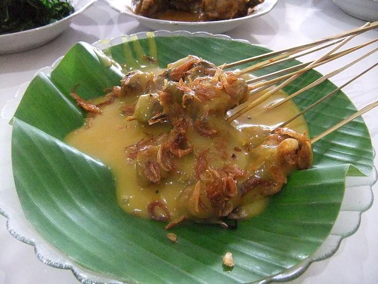 sate padang - sumatera barat - indonesia