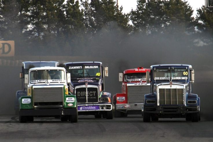 Truck Racing at Wakefield Park