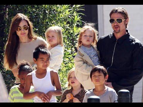 Brad Pitt and  Angelina Jolie's kids  facing impossible  choice