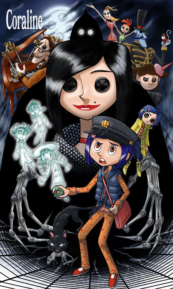 coraline by ~ushi-no-bokujyo on deviantART