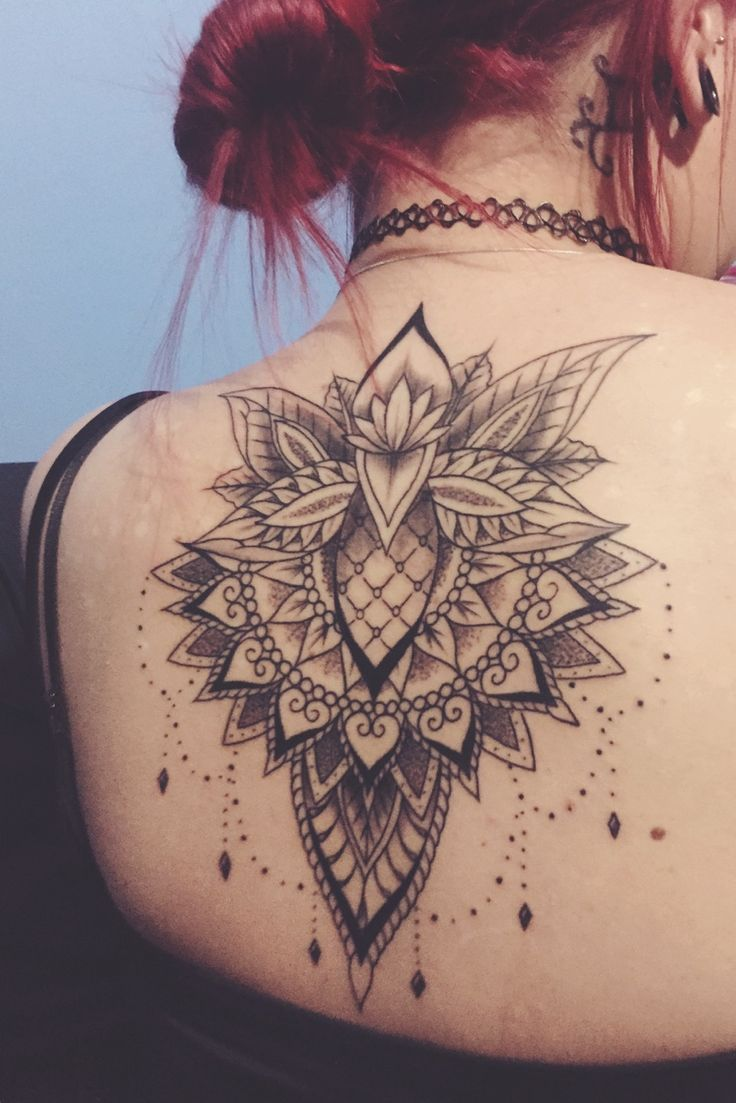 TATTOOS.ORG - Lotus mandala tattoo | Gold Coast, Australia...