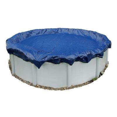 Cobertura de piscina de inverno azul acima do solo, com 15 anos e 36 pés, azul marinho, azul royal   – Products