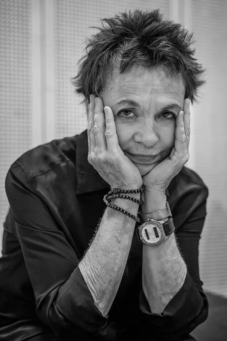 Laurie Anderson #mupa2014 © Kotschy Gábor