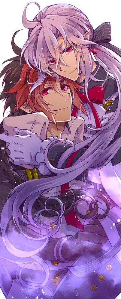 Ferid Bathory and Crowley Eusford   Owari No Seraph   Seraph of the End   ♤ #anime ♤