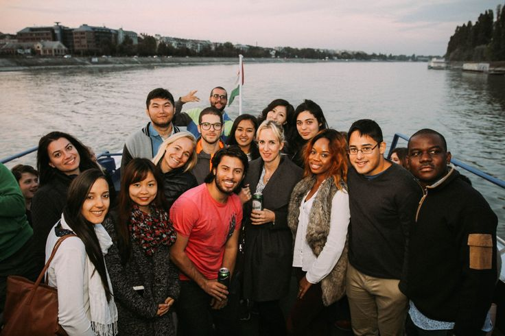 Our new Master's students opened the semester with a wonderful boat trip on the Danube. We wish them good luck with their studies!