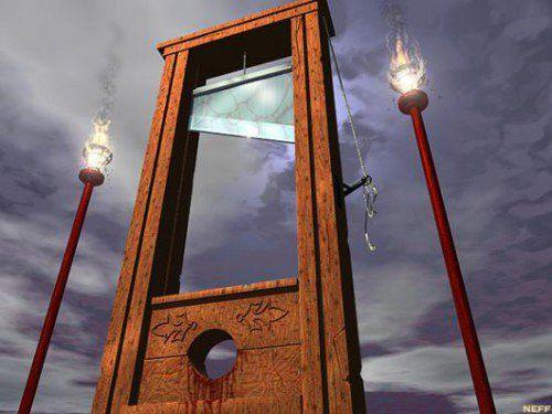 Eric Zemmour poussé vers la guillotine