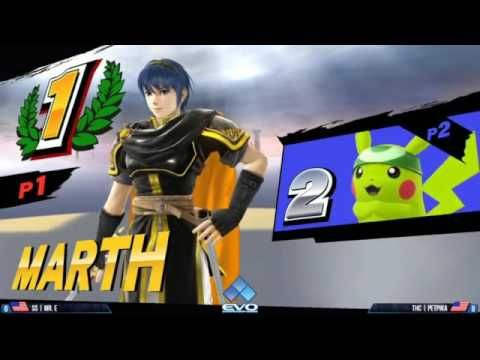Evo 2016 Super Smash Bros 4 Wii U Pools Matches