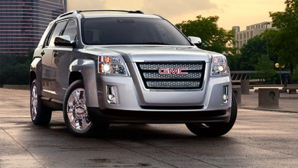 2014 GMC Terrain SUV. My new ride. Except mine is Silver Starlight (who makes up these color names?) which is a light blue silver.   I really like it.