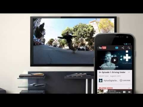 Turn your phone or tablet into a remote.  Send your favorite YouTube videos to TV with the touch of a button wirelessly! #YouTube #tech