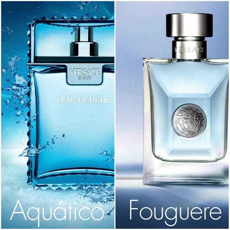 Duas fragrâncias masculinas modernas da casa #Versace para o homem contemporâneo. Qual faz mais o seu estilo?