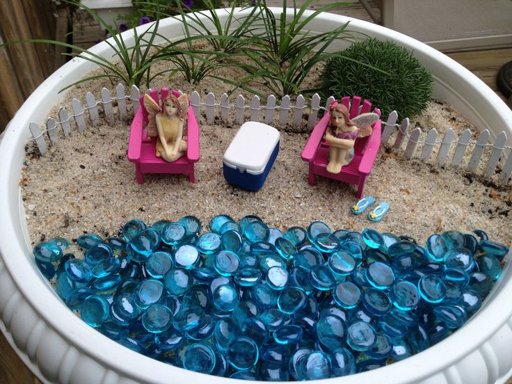 Wonderful My Fairy Garden Beach Scene