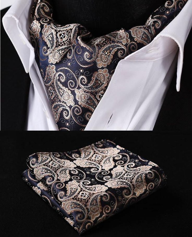 Specifications Specific Shipping Fees Item Type: TiesStyle: FashionMaterial: SilkSize: One SizeTies Type: Cravat As part of our Deluxe collection, this ascot is