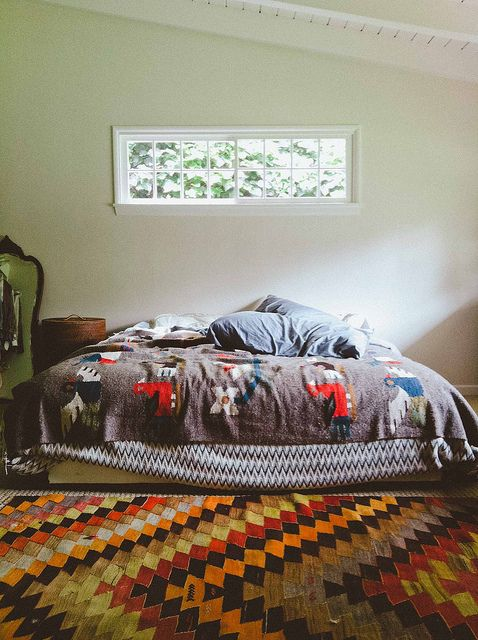 old brand new - bedroomBedrooms Rugs, Grey Bedrooms, Brand New, Beds Spreads, Spare Room, New Bedrooms, Inside Outside, House Interiors Design, Cozy Bedrooms