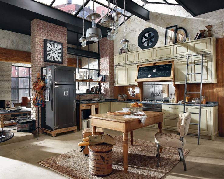 17 best ideas about cuisine vintage on pinterest interiors shelves and open kitchen shelving. Black Bedroom Furniture Sets. Home Design Ideas