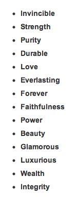 Diamond tattoo meaning