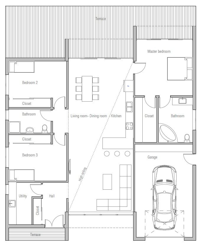 Minimal House Plans 77 best houses images on pinterest | architecture, stairs and home
