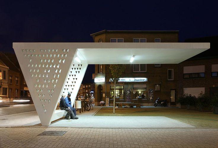 Luifel | A+ URA luifel omgevingsaanleg publiek collectief stedenbouw paviljoen verlichting