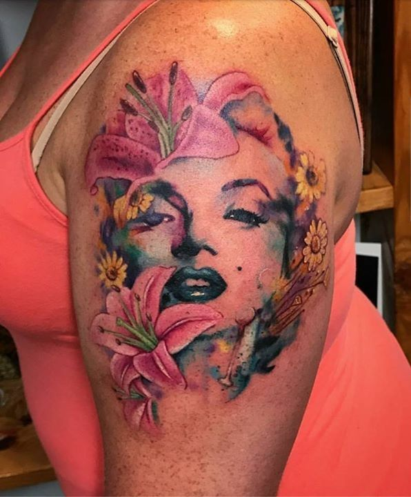 Pin On Watercolor Tattoo Images