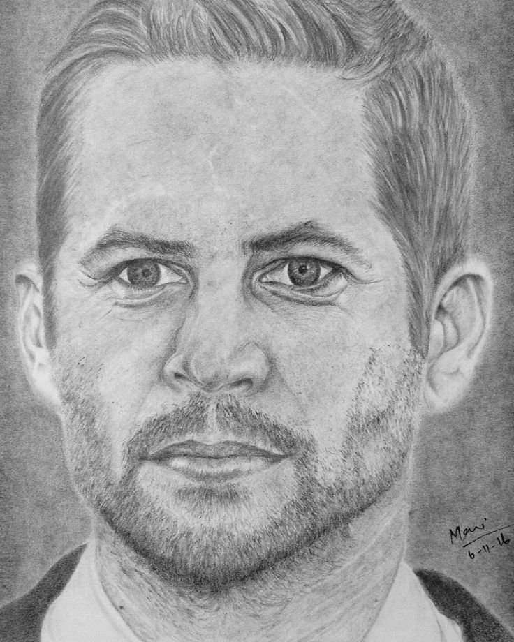 Manikandan @maniperumal_93 - Pencil Sketch of Paul Wal...Yooying