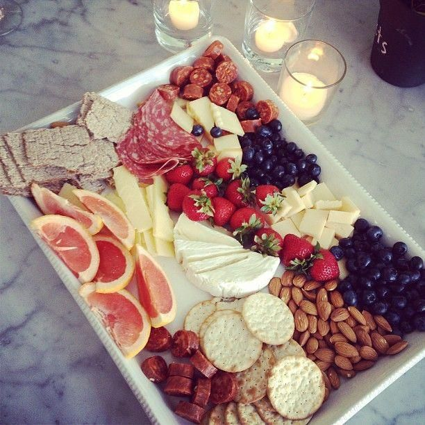 One of my favorite things to serve for get togethers. A nosh platter