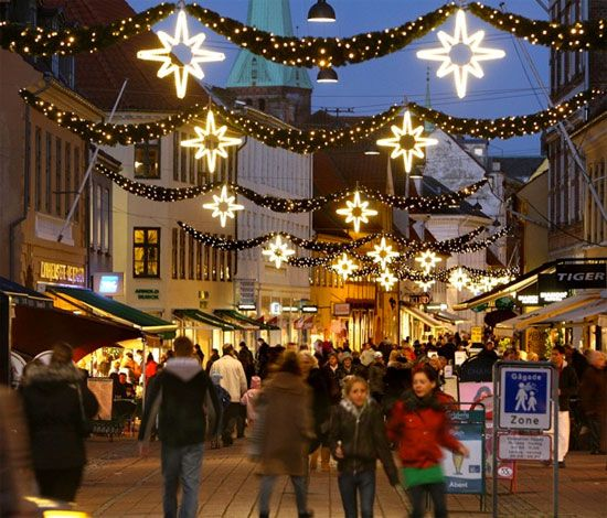 Julemanden i Helsingør Danmark. One time You should go to Denmark for Christmas