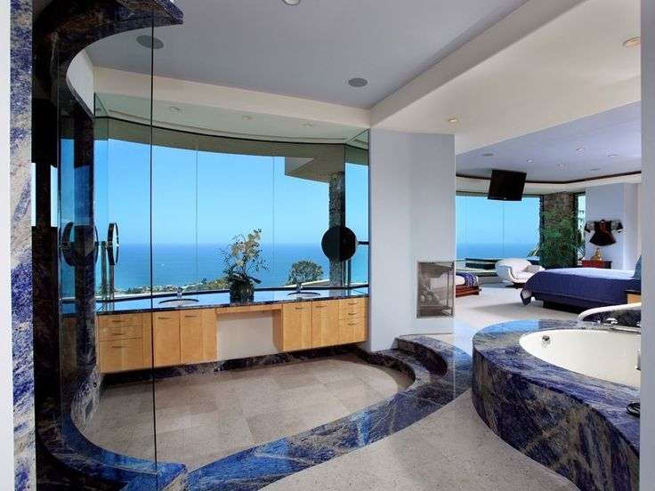 Modern Master Suite Bathroom