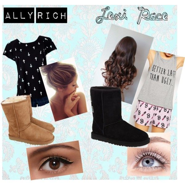 valentines day with ur besty by sparklesandally on Polyvore featuring ASOS, Forever 21 and UGG Australia