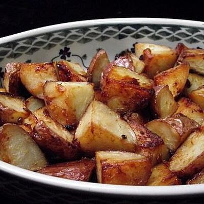 SUCCESS Honey Roasted Red Potatoes. Erin made this and we loved it ...