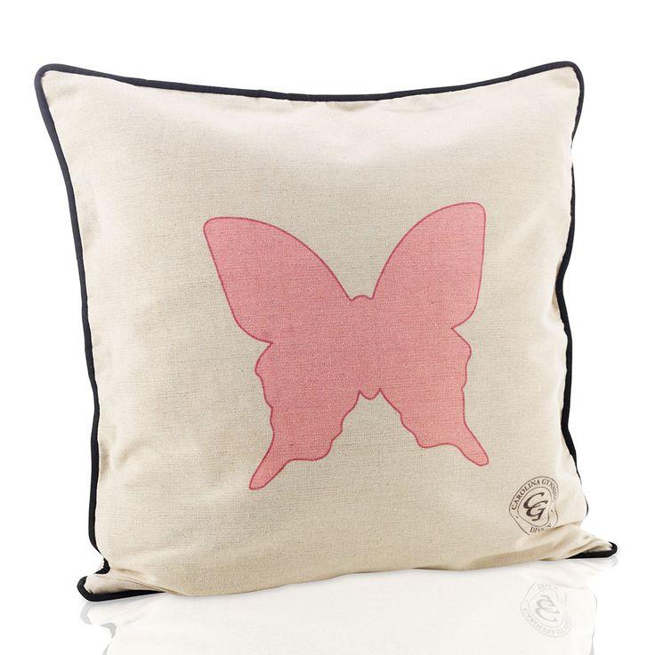 Pink Butterfly Kuddfodral, Carolina Gynning