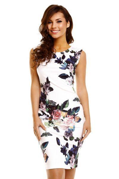 Dames Bloemenprint Jurken Emeral Beautylife http://www.emeralbeautylife.nl/