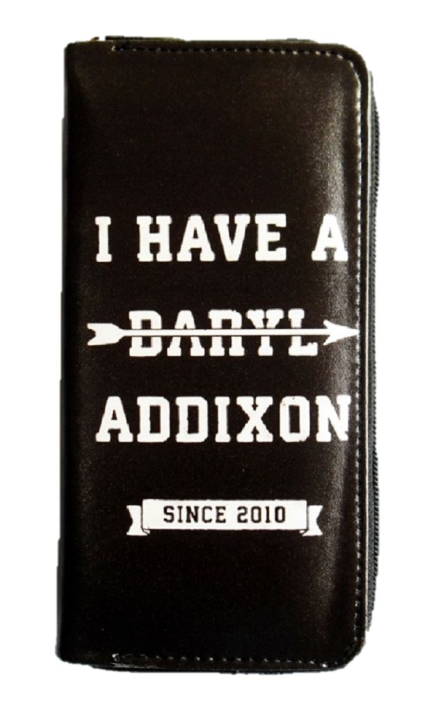 THE WALKING DEAD - DARLY ADDIXON GIRLS CLUTCH WITH BACK WINGS DESIGN - moleball