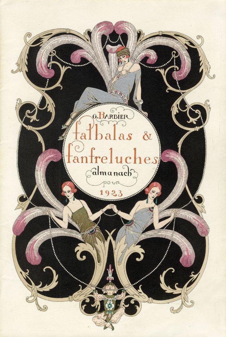 Georges Barbier : Falbalas et Fanfreluches 1923