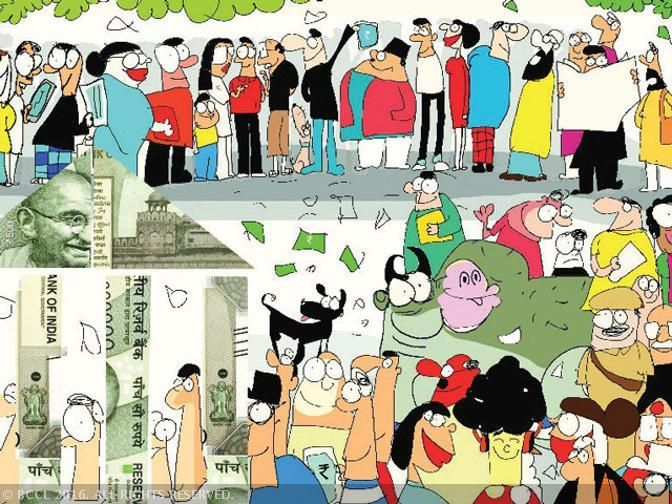 How Delhi lost a working day to demonetisation - The Economic Times