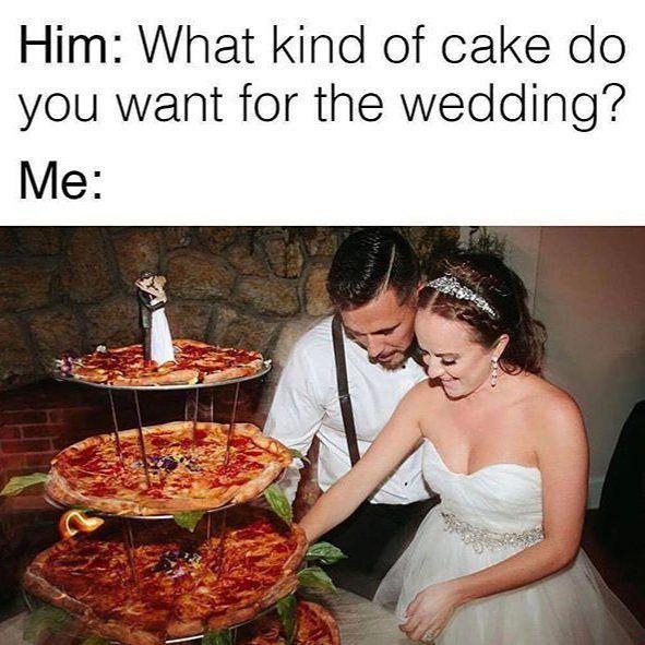 A žili spolu šťastně až do další objednávky z www.vosime.cz  #vosime #vosimecz #pizza #pizzas #pizzalover #weddingfood #wedding #pizzafun #svatba #goodfood #orlova #novyjicin #frydek #mistek #frydekmistek #sayyes #pizzadelivery