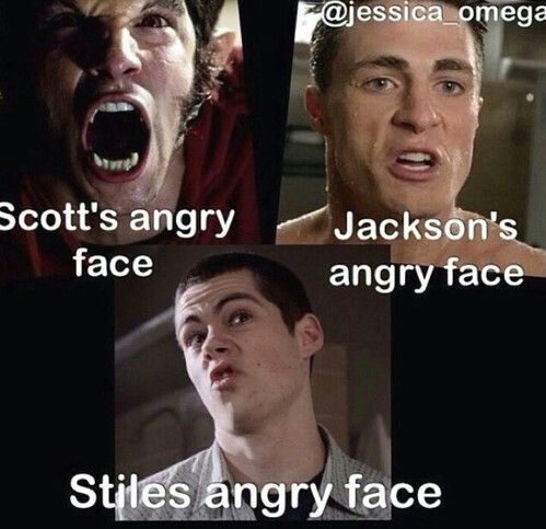 teen wolf angry faces