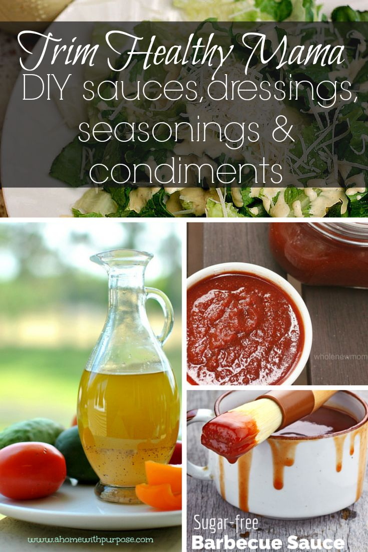 Trim Healthy Mama DIY sauces, dressings, seasonings and condiments - Simply Healthy Home