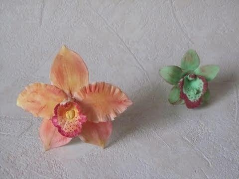 Fiori in pasta di zucchero: orchidee (Parte 1 di 2)