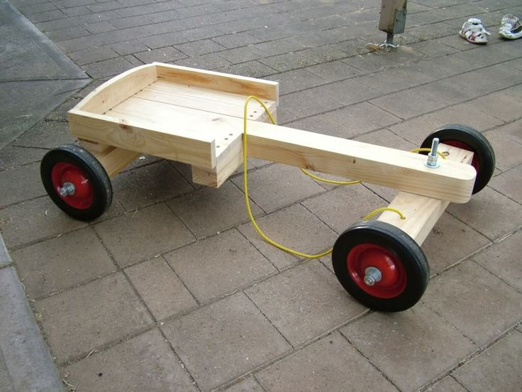 Wooden Go Kart Plans - WoodWorking Projects & Plans