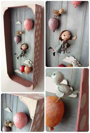 envol de ballons by Chloé Rémiat