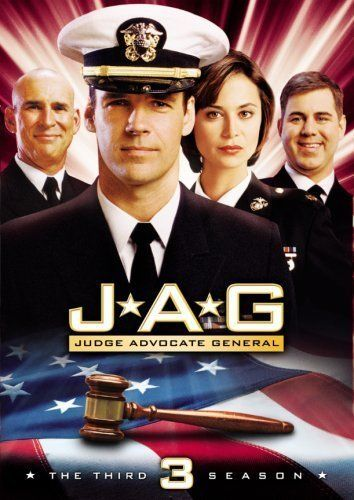 JAG (1995–2005) - Stars: David James Elliott, Catherine Bell, Patrick Labyorteaux. - The cases of Harmon Rabb, former Navy fighter pilot, and his fellow lawyers of the US Navy's Judge Advocate General's office. - ACTION / CRIME / DRAMA