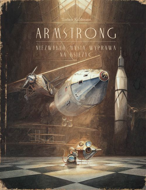 Pięknie ilustrowana opowieść o spełnianiu marzeń. Doskonały prezent na Święta.    Kontynuacja przygód latającej myszy. Tym razem mała mysz sięga gwiazd, a inspiracją jest postać Neila Armstronga.