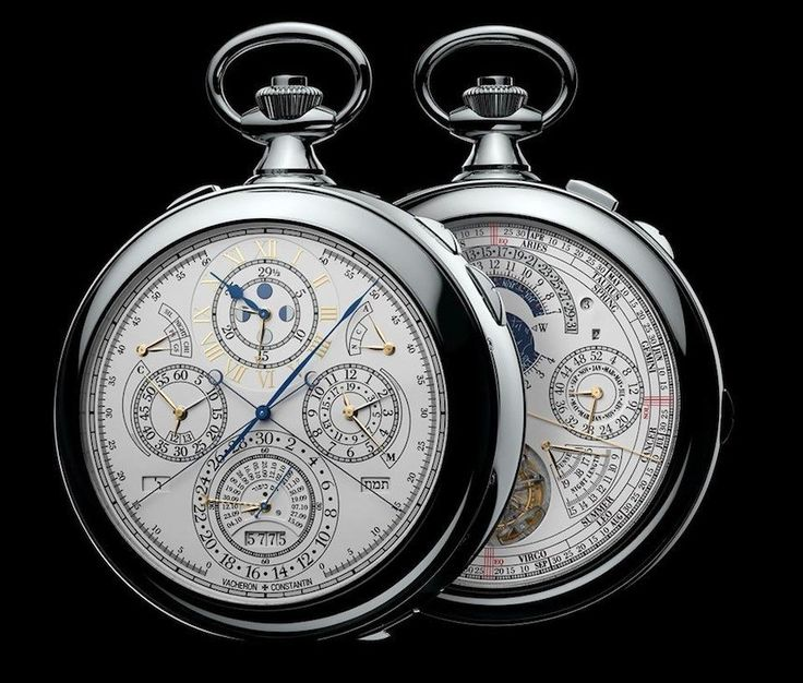 Vacheron Constantin Reference 57260 Pocket Watch Is World's Most Complicated Watch Ever Made