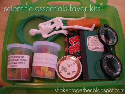 shaken together: {create this} mad scientist birthday party