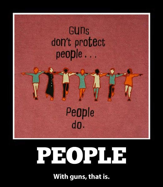 People protect people…
